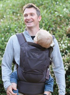 The Onya Baby NexStep is a revolution in materials. Constructed from 100% recycled brushed polyester twill fabric, with an Air-Mesh lining, it's soft and breathable for your baby and easier on the planet. Now you can leave a lighter footprint for the next generation. Go, green baby, go! The NexStep offers a ton of features found only on Onya Baby carriers. To top it all off, each ergonomic baby carrier offers integrated travel chair for baby. www.onyababy.com