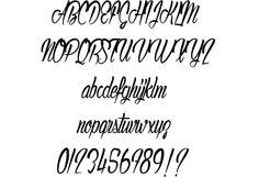 Authentic Hilton font by Maelle.K #fonts #font #typeface #ttf #typography #design #webdesign #script