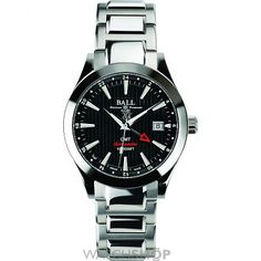 Men's Ball Engineer II Red Label Chronometer GMT Automatic Watch