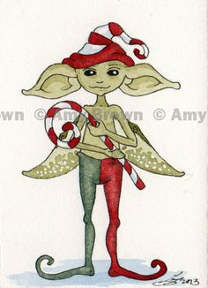 Amy Brown - Holiday Elf
