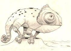 Jaque Primate: Camaleón lunar