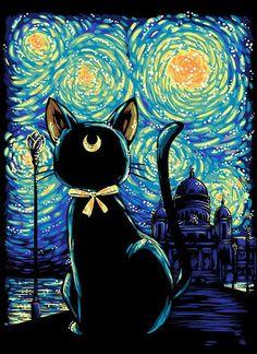 Luna Van Gogh :)