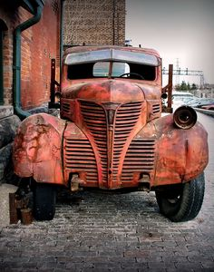 Rusty Old Pickup Truck Ford Classic Cars, Classic Trucks, Dodge Trucks, Pickup Trucks, Lifted Trucks, Dodge Pickup, Chevrolet Trucks, 1957 Chevrolet, Lifted Ford