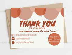 Thank U Cards, Printable Thank You Cards, Thank You Card Template, Name Cards, Card Templates, Thank You Card Design, Name Card Design, Business Card Design, Business Cards
