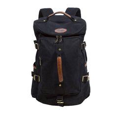 Dehang - Sac à dos / sac de voyage / sac de randonnée en toile vintage Unisexe- Vert d'armée / kaki foncé / Bleu foncé: Amazon.fr: Informatique