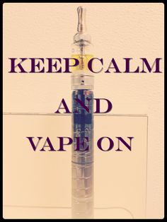 Keep calm and vape it #vape #vaping #ecig #clouds #nosmoke