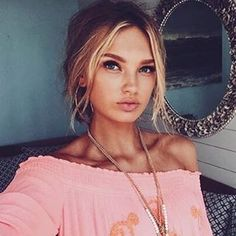 Romee Strijd #Romee_Strijd #Woman #Beauty