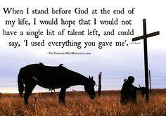 Amen to that....