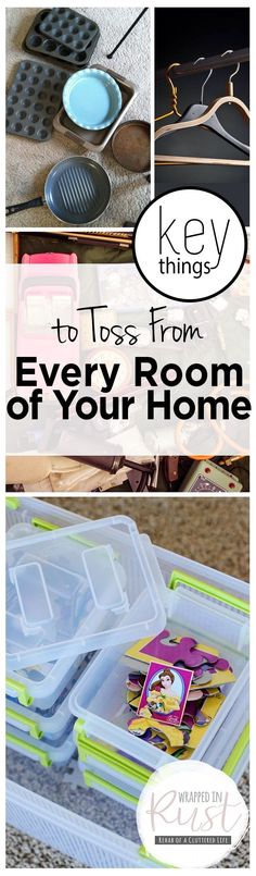 Key Things to Toss From Every Room of Your Home| Things to Get Rid of, Declutter Your Home, How to Declutter Your Home, Declutter Your Home By Getting Rid of These Items, Popular Pin #declutteryourhome #gettingridofclutter