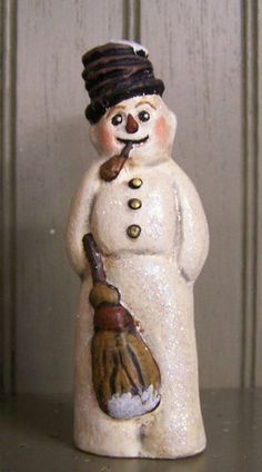 Antique Chalkware