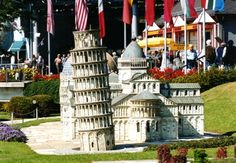 (AT) Klagenfurt - Minimundus Klagenfurt, Eurotrip, Pisa, Countries, Cities, Miniature, Traveling, Tower, World