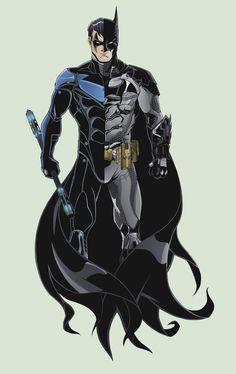 Batman Nightwing Tattoo by TimelessUnknown.deviantart.com on @DeviantArt