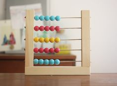 Week 11: How to make a colorful, easy abacus
