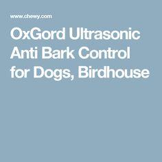 OxGord Ultrasonic Anti Bark Control for Dogs, Birdhouse