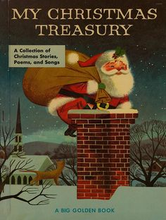 My Christmas Treasury (Big Golden Book 1957)
