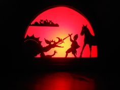 Waldorf Kindergarten, Michaels Craft, Waldorf Crafts, Deer Silhouette, Collages, St Michael, Projects For Kids, Pumpkin Carving, Lanterns