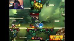 Awesomenauts Live Gameplay Online OBS Epic Linux Steam Game 02