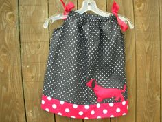 Pillowcase Dress for Infants & by Conniejeanclothing on Etsy, $19.00