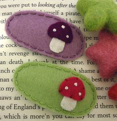 Hey, I found this really awesome Etsy listing at https://www.etsy.com/listing/79675567/no-slip-wool-felt-hair-clip-set-of-2