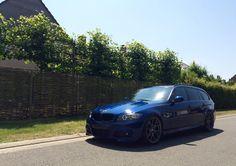 #BMW #E91 #335i #Touring #MPackage #Summer #Blue E91 Touring, Live Life, Cool Cars, Badass, Transportation, Bmw, World, Heart, Sexy