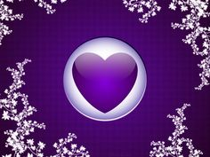HEART  Desktop Wallpaper | purple heart backgrounds categories love wallpaper