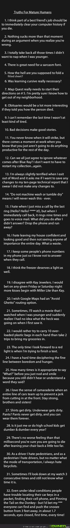 i agree with every single thing on this list