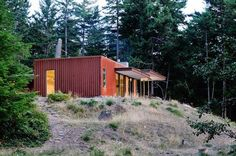 Una casa sostenible en un bosque · A sustainable home in a forest - Vintage