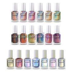 Color Club Halo Hues Holographic Nail Polish Complete Collection Set of 19 #ColorClub