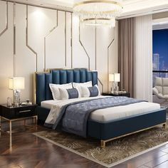 The War Against Modern Bedroom Ideas Create a Contemporary Bedroom in 5 Easy Steps - lowesbyte Grey Bedroom Decor, Romantic Bedroom Decor, Warm Bedroom, Master Bedroom Interior, Luxury Bedroom Design, Master Bedroom Design, Interior Design, Mirrored Bedroom, Royal Bedroom