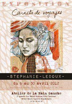 Les carnets de voyage de Stéphanie Ledoux: AFFICHES