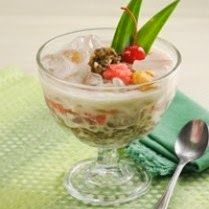 Menu Buka puasa - Es Kolak Kacang Ubi - Referensi Resep Makanan