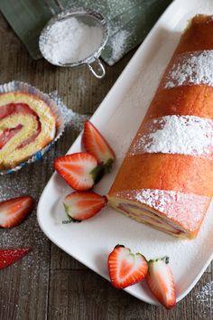 Rotolo alle fragole: un vortice di pura bontà che profuma di primavere!  [Strawberry sweet roll]