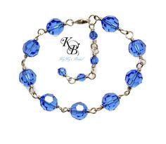 Flower Girl Jewelry, Flower Girl Bracelet, Crystal Bracelet, Birthstone Bracelet, Flower Girl Gift, Little Girl Bracelet, Little Girl Gift