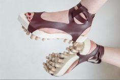 Boty z projektu Personal Space od Karin Říhovové  #shoes #czechdesign #shoes #Říhová