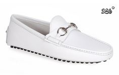 versace WHITE loafers for men   2013 Good quality Gucci Mens pure white Casual Leather Loafers store