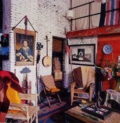 La Maison Boheme: Home Tour   French Painter Christian de Laubadère