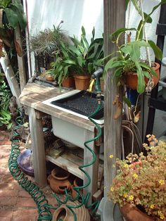 22+ best Sinks in the garden images on Pinterest | Garden art, Yard ...