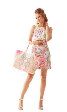 Rosie Square Neck Shift Dress - Lilly Pulitzer