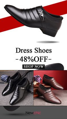 2b0342cd2ce  48%off Men Classic Metal Buckle Ponited Toe Business Dress Wedding Shoes
