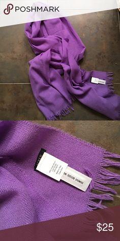 NWOT J. Crew lilac purple scarf New never worn J. Crew Accessories Scarves & Wraps
