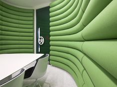 Architizer Blog » Google's New London HQ Surprises with Wool, Tweed, and Rocking Chairs