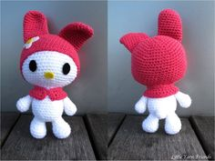 If you love Sanrio or Hello Kitty why not check out this crochet My Melody pattern by Little Yarn Friends.  Would be a great project for Modern Baby.