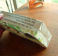 Urban Natural History: DIY Paper gift bags - upcycled, cheap and pretty darn cute