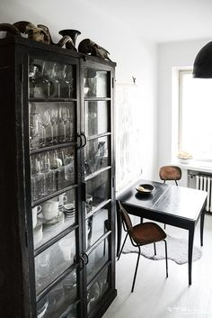 Kaapin paikka ~ Notes on a life Scandinavian Interior Design, Scandinavian Home, Simple Closet, Build Your Own House, Black Furniture, Coups, House Rooms, Kitchen And Bath, Home Decor Inspiration