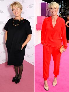 Emma Thompson credits trainer Louise Parker for helping her lose two dress sizes, all while indulging in wine
