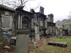 Greyfriar's Graveyard - Edinburgh, Scotland - Rumored to be one of the most haunted cemetery's in the world.