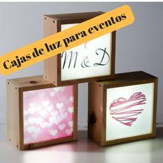 kitkasa-caja de luz para bodas- decoración para eventos
