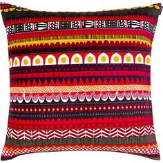 In her 2011 design, artist Sanna Annukka pays homage to Raanu—a traditional Finnish woven textile defined by vibrant folkloric patterns. Historically, these folk art weavings covered tent-like dwellings of the Sami natives of Finland. Symbolizing nature and the changing seasons, the graphic illustrations of Sanna's Raanu pattern pop in an optic, linear composition.