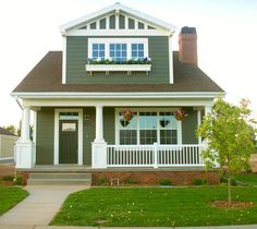 Craftsman style bungalow home.