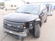 Salvage and Repairable Cars : 2013 FORD EXPLORER for Sale  THIS IS A SALVAGE REPAIRABLE VEHICLE WITH FRONT AND REAR END DAMAGE . RUNS , DRIVES HAS LEATHER INTERIOR AND IS AWD. For more information and immediate assistance, please call +1-718-991-8888